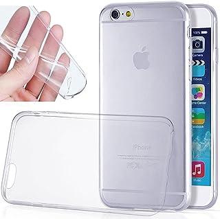 NETONBOX.COM Funda Protector Crystal Case TPU Transparente Silicon Elegante Flexible para iPhone 6 o iPhone 6s