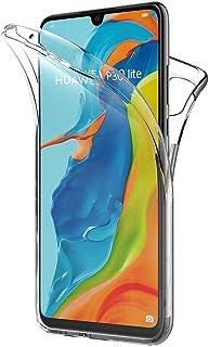 comprar comparacion AICEK Funda Huawei P30 Lite, Transparente Silicona 360°Full Body Fundas para Huawei P30 Lite Carcasa Silicona Funda Case (...