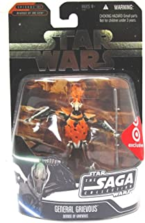 Star Wars THE DEMISE OF GENERAL GRIEVOUS Exclusive Action Figure Saga Collection 2006