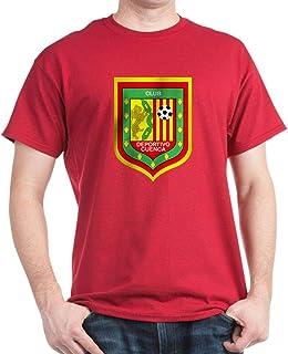 CafePress Escudo Deportivo Cuenca Dark T Cotton T-Shirt