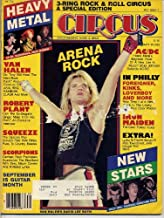 Circus Magazine ARENA ROCK Van Halen SCORPIONS Iron Maiden QUEEN Kansas ANGUS YOUNG September 30, 1982 C (Circus Magazine)