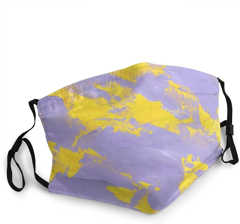 Tie-Dye Adult Face Mask Washable Adjustable Balaclava Reusable Fashion Scarves for Unisex