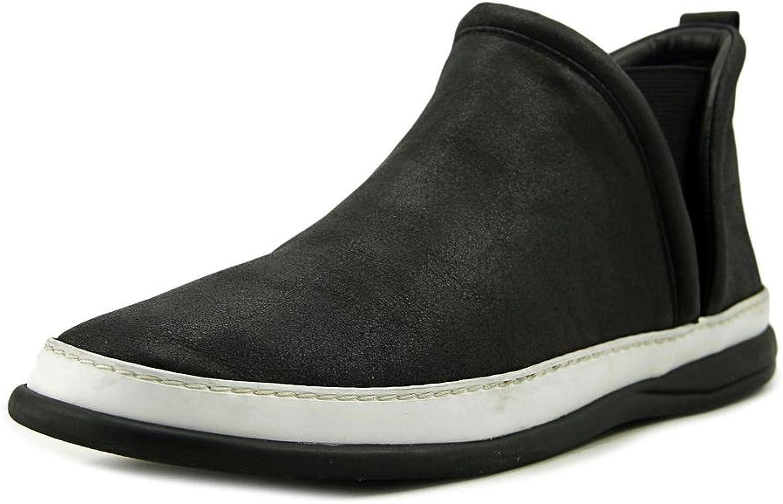Taryn pink Womens Freddie Low Top Slip On Fashion Sneaker, Black, Size 11.0