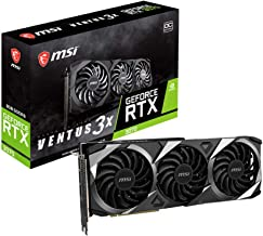 MSI Gaming GeForce RTX 3070 8GB GDRR6 256-Bit HDMI/DP TORX Fan 3.0 Ampere Architecture OC Graphics Card (RTX 3070 Ventus 3...