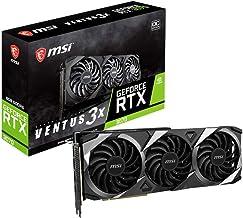 MSI Gaming GeForce RTX 3070 8GB GDRR6 256-Bit HDMI/DP TORX Fan 3.0 Ampere Architecture OC Graphics Card (RTX 3070 Ventus 3...