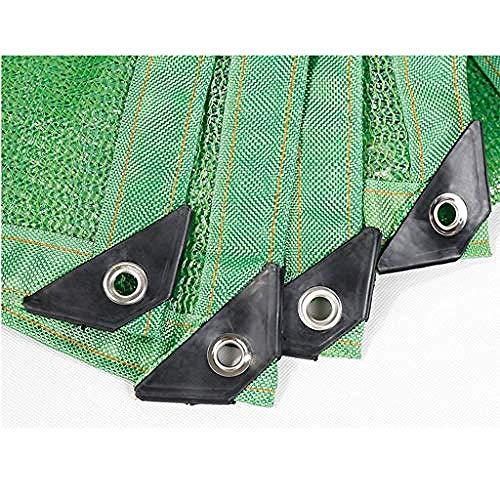 H.ZHOU Shade Reflective Shade cloth 85% Shade cloth Shadow net with UV-resistant welded edge with eyelets Shade tarpaulin -15x18ft/5x6m 908