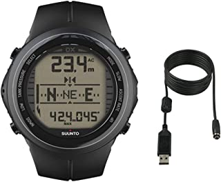 SUUNTO Men's DX ELASTOMER W/USB Athletic Watches