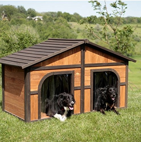 Extra Large Solid Wood Dog Houses - Suits Two Dogs Or 1 Large...