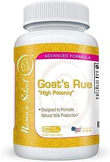 Sponsored Ad - Organic Goat's Rue - Increase Breast Milk Supply - 120 Vegetarian All Natural Breast Feeding Goats Rue Pill...