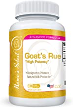 Organic Goat's Rue - Increase Breast Milk Supply - 120 Vegetarian All Natural Breast Feeding Pills - Herbal Support Aid for Lactation & Nursing - Safe and Free from Gluten, Dairy, Soy - Mama's Select -