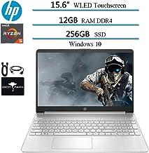 "2020 Newest HP 15.6"" Touchscreen Widescreen LED Laptop Computer, AMD Ryzen 5 3500U(up to..."