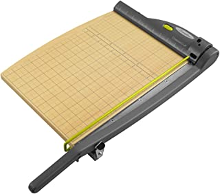 """Swingline Paper Trimmer, Guillotine Paper Cutter, 15"""" Cut Length, 15 Sheet Capacity, with Laser, ClassicCut (9715)"""