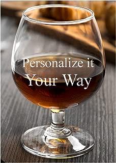 cognac glasses engraved