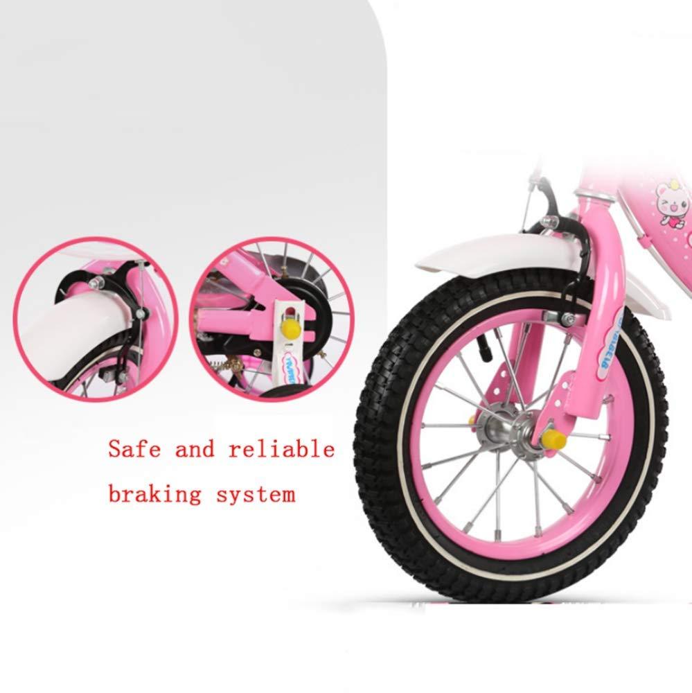 WY-Tong Bicicleta Infantil Bicicletas Infantiles Coche de niña 3-7 ...