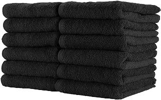 Bleach-Safe Salon Towels |100% Cotton | lightweight Lint Free Towels |12 Pack, Large 16