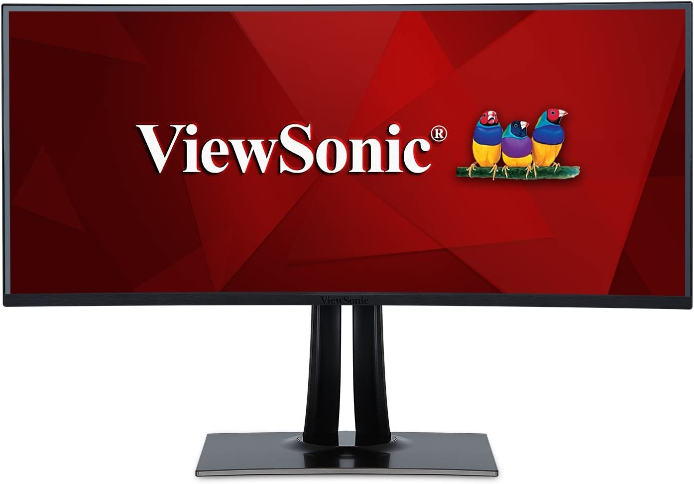 ViewSonic VP3881 38in IPS Ultra Wide Curved Pro Monitor, HDMI, DisplayPort, USB 3.1 Type C, Hardware Calibration (Renewed)