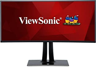 $749 » ViewSonic VP3881 38in IPS Ultra Wide Curved Pro Monitor, HDMI, DisplayPort, USB 3.1 Type C, Hardware Calibration (Renewed)