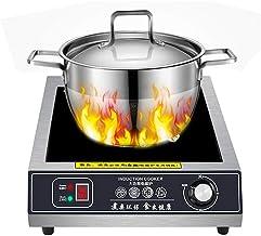 Plaque à induction 3500W Plaques de Cuisson Céramique affichage numérique Plaque de cuisson à induction unique en verre cr...
