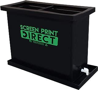 30 Gallon Screen Printing Dip Tank - Fits 6 Screens up to 23