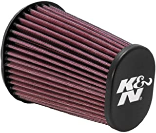 K&N Universal Clamp-On Air Filter: High Performance, Premium, Replacement Engine Filter: Flange Diameter: 2.4375 In, Filter Height: 6 In, Flange Length: 0.625 In, Shape: Oval Straight, RE-0960