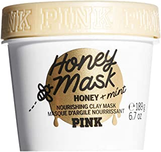 Victoria's Secret Pink Honey Clay Mask with Pure Honey and Mint, 6.7 oz / 189g (Honey)