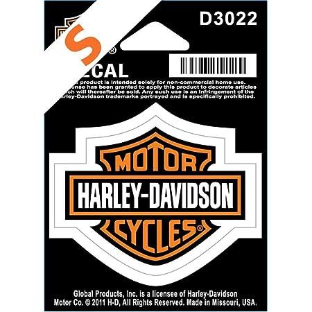 Harley Davidson Aufkleber B S Klein Küche Haushalt