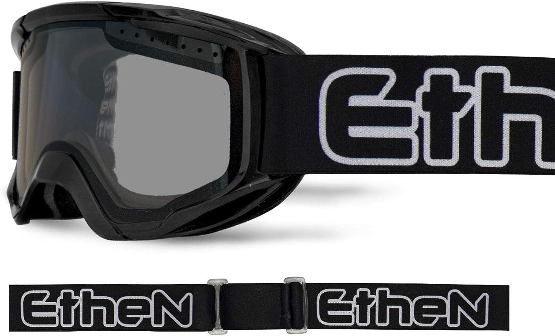 Ethen 4EN04 Enduro Unisex Erwachsene Maske Schwarz, Einheitsgre