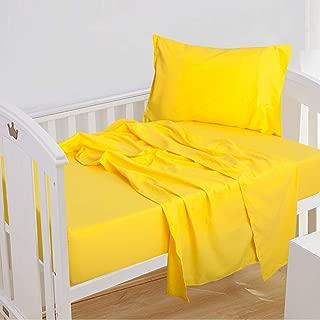 Best crib sheets yellow Reviews