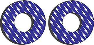 Factory Effex Grip Donuts (Yamaha (White/Blue))
