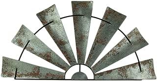 half metal windmill