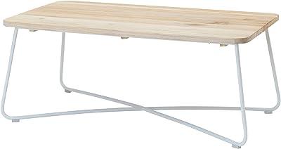 オリバー(oliver) センターテーブル ナチュラル W105㎝×D55㎝×H42.5㎝ Woven+ S・TU-250・A 1台入り