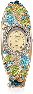 naivo Women's Quartz Stainless Steel and Plated Watch, Color:Gold-Toned (Model: 1)