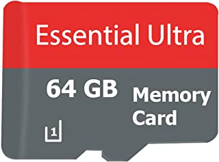 Essential ULTRA 64GB Plum Trigger Pro SmartPhone MicroSDXC Card with custom format for Hi-Speed Lossless certified recording! With SD Adapter. (Class 10, up to 500x or 70MB/sec)