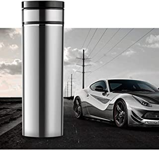 Water Heating Cup for Car,Heated Cup for Car,Travel car Heating Cup, Smart Electric hot Water Cup, car Water Heater, Kettle Thermos, 12V24V100 Degrees,A