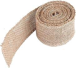 Easyeeasy Jute Roll Pure Kleur Linnen Roll Tafel Vlag Terug Diy Handgemaakte Kerst Bruiloft Craft Gift Natuurlijke Jute Roll