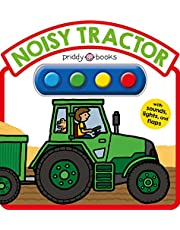 Noisy Tractor Sound Book: With Sounds, Lights, and Flaps (Simple Sounds)