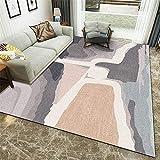 cuadros decoracion salon grandes alfombras infantiles Dormitorio de la alfombra gris rosada Decoración de la decoración para el piso de la casa resistente a las manchas cuadros cabecero cama matrimoni