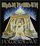 Photo de Iron Maiden Badges–Power Slave–Iron Maiden Patch–tissé & Licence.