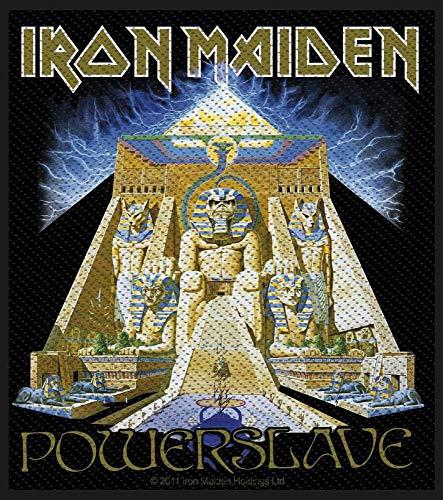 Parche Unbekannt Iron MaidenPowerslave,tejido & licencia oficial