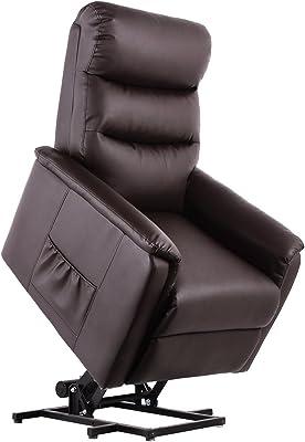 Amazon.com: U-MAX - Silla de masaje reclinable de piel ...