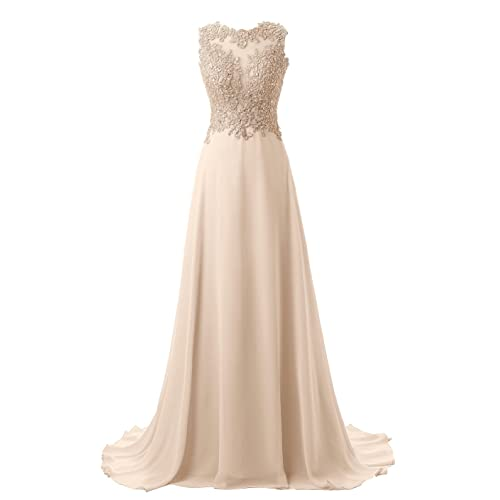 3a915c2b4f5 Callmelady Abendkleider Lang Spitze Elegant Ballkleider Damen Abiballkleid  Cocktailkleid