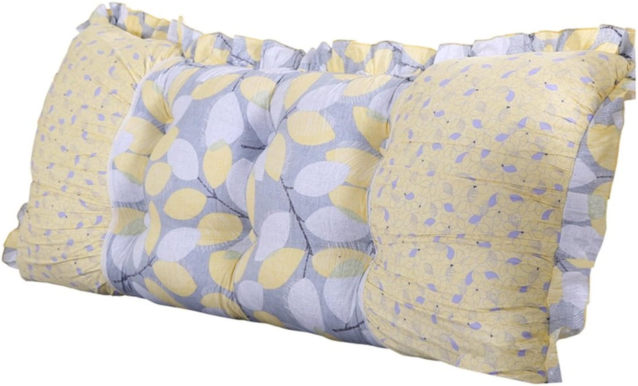 Grand Coussin de Chevet de Chevet de Chevet de lit de Chevet de Coton de Noyau de Multifonction avec la Tirette faciles à Nettoyer, 6 Couleurs, 5 Tailles (Couleur   1, Taille   100 × 50cm)