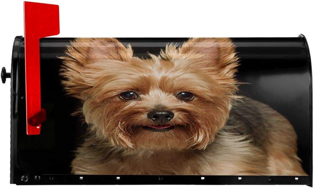 KiuLoam Home Decor Manufacturer Very popular regenerated product Cute Yorkie Magnetic Dog Standa Cover Mailbox