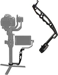 AgimbalGear DH03 Handheld Gimbal Grip with Cold Shoe for Mounting Monitors, Microphones, LED Light etc Compatible with DJI Ronin-S, Ronin SC, Zhiyun Weebill LAB, Crane 2, Plus, Moza Air Mini Dual Grip