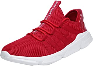 GRIPY Sneakers for Men Breathable Running Shoes Casual Shoes Ultra Light Woven Sneakers Shoes Sport Shoes for Men