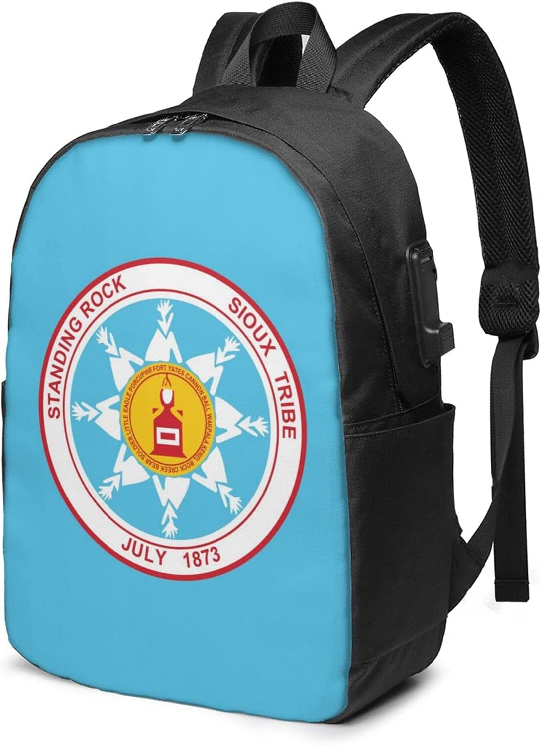 Standing Rock Sioux Tribe Challenge the lowest price of Japan ☆ Laptop Port Backpack Usb Charging free shipping With