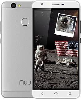 NUU Mobile X5 - Dual SIM Unlocked GSM Phone 3G RAM - 32GB Storage Fingerprint Sensor