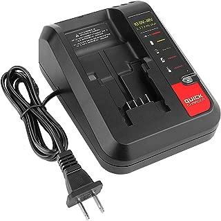 YABELLE 20V Replacement for Porter Cable PCC685L PCC680L PCC675L Battery Charger and Black & Decker BDCAC202 LBXR20 LB20 LBX20