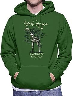 SDFGSE The Wild Africa Co Giraffe Men's Hooded Sweatshirt