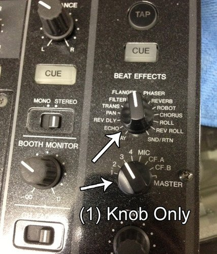 Pioneer Selection Knob Effects Master DJM700/800/900NSX/900NSXW DAA1205
